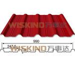 Лист крыши Galvalume Corrugated стальной