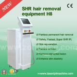 Macchina non dolorosa del laser di rimozione dei capelli di H8 Shr IPL