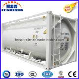 40FT 20FT kohle-/Kleber-Puder-Becken-Behälter ISO-22.5cbm Massen