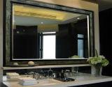 miroir argenté antique clair décoratif de 4mm