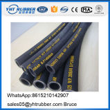 Tubo flessibile idraulico SAE 100 R1at del singolo del collegare tubo flessibile di gomma dell'involucro