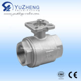 Q11f Stainless Steel 2PC Ball Valve