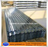 Strato ondulato galvanizzato del tetto di trattamento di superficie