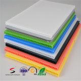 Feuilles ondulées de plastique taille 100% faite sur commande colorée de Vierge de 10 paquets