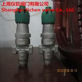 Valvola di riduzione della pressione dei soffietti ad azione diretta