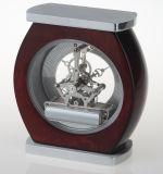 Orologio afflitto ovale dello scrittorio