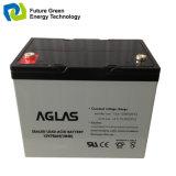 12V75ah太陽LEDライトのための再充電可能なガラスマットの鉛の硫酸電池