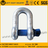 G-210 Vis de qualité commerciale Pin Us Type Forged Chain Shackle