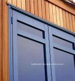 Двери самого лучшего двойника гарантии цены стеклянные алюминиевые