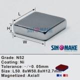 O ímã forte do ímã/Neodymium do bloco/lig o ímã magnético do separador de NdFeB