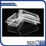 Container van het Vakje van het Voedsel van het Folio van de supermarkt de Beschikbare Duidelijke Plastic Om het even welke Grootte