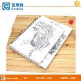 Пустое печатание Sketchbook спирального изгиба