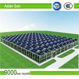 Sistema/suporte solares à terra galvanizados da montagem do picovolt