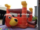 Gorila inflable comercial del Moonwalk del perro para la venta