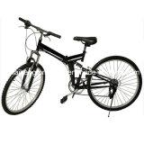"""새로운 26 """" 접히는 6개 속도 산악 자전거 자전거 학교 스포츠 검정"""