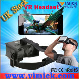 Smartphone Vr Headset 3D Glassesのプラスチック3D Video Viewer