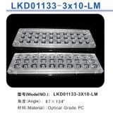 Luz de rua do diodo emissor de luz/lente módulo da lâmpada com o diodo emissor de luz 30 de Philips Lumileds (FLM)