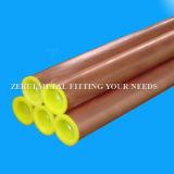 Pulsar el tubo de cobre destemplado K para el gas médico