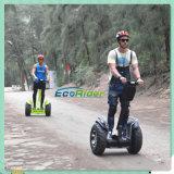 Ecoriderの防水72Vリチウム電池2の車輪のスマートなバランスの電気スクーター
