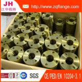 L'acier du carbone jaune de peinture En1092-1 Type02 assemblent la bride à clin