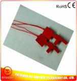 Calefator da borracha de silicone para a tubulação 12V 30W 33.3*90*1.5mm do metal