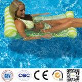 Hamaca flotante inflable del agua del flotador de la balsa de la silla de salón
