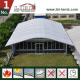 党および結婚式のための25X40mアーチ形にされたドームの形のテント