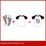 t-셔츠 공장 (P142)를 인쇄하는 승화 전면 도매 100%년 Poleyster