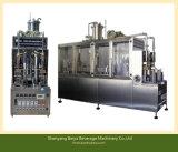 Het Vullen van het Karton van de Drank van de yoghurt Verpakkende Machine Met geveltop