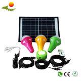 中国太陽ライト製造者の太陽エネルギーシステムコミュニティキャンプの照明のための太陽キットシステム
