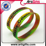 Migliori braccialetti variopinti di vendita del silicone di modo