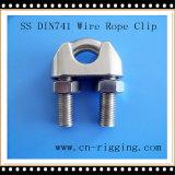 DIN741 braçadeira Ss304 para conexões do laço da corda de fio