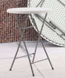 High Chair (HQ-Y81)를 가진 소형 Bar Table Furniture Cheap Plastic Folding Round Bar Cocktail Table Sets