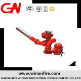 Monitor teledirigido de la espuma del fuego del control eléctrico
