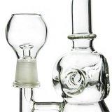 Verbogene Stutzen-Ölplattform-Glaswasser-Rohre mit Wasserball-Diffuser (Zerstäuber) (ES-GB-359)