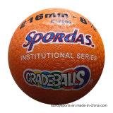 Logo d'OEM boule de cour de jeu en caoutchouc de 8.5 pouces