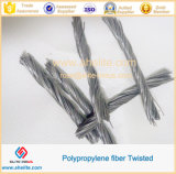 Pp Twisted Fiber voor Concrete Reinforcement