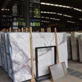 Guter Verkaufs-weiße natürliche Steinplatte-Fußboden-Marmorierungfliese