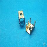 充電器のケーブルコネクタの端子ブロック