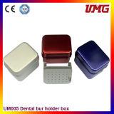 Venta caliente de instrumentos de esterilización Box Dental Autoclave caja para HP Bur