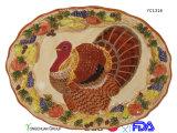 Grande disco di ceramica della Turchia per il commercio all'ingrosso