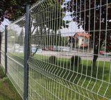 Dreieck-verbiegendes Zaun-Panel, geschweißtes Ineinander greifen-Zaun, Garten-Zaun