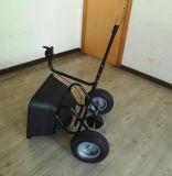 De Verspreider van de Meststof van de Tractor van de macht in Hongrunfa wordt gemaakt die