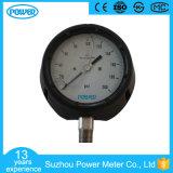 indicateur de pression rempli d'huile de sûreté de caisse de résine phénolique de 4 '' 100mm