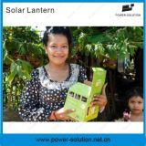 Luz de la linterna solar portable del LED para el campo al aire libre