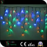 Feenhafte Eiszapfen-Lichter des Bratenfett-LED für im Freiendekoration