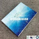 Подгонянная голубая косметическая коробка подарка бумаги упаковки