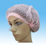 PE Hotel Shower Cap, Disposable Shower Cap com Printed ou Transparent Color