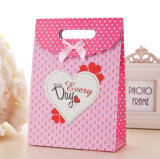Мешок упаковки бумажной несущей печати мешка подарка покупкы бумаги Kraft (E033)