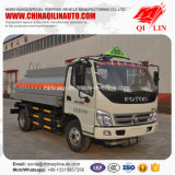 Kraftstofftank-LKW der Kapazitäts-5100L für Diesel-/Benzin-Laden